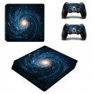 Spiral Galaxy ps4 slim skin decal for console and controllers