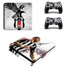 Beşiktaş J.K. ps4 slim skin decal for console and controllers