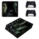Alien: Covenant ps4 pro skin decal for console and controllers