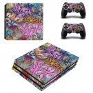 Street art ps4 pro skin decal for console and controllers