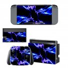 Electric Lightning Nintendo switch console sticker skin