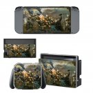 Civil war painting Nintendo switch console sticker skin
