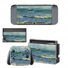 Saintes maries de la mer Nintendo switch console sticker skin