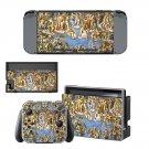 Sistine Chapel painting Nintendo switch console sticker skin