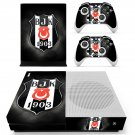 Beşiktaş J.K skin decal for Xbox one console and controllers