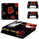 Naruto Uzumaki ps4 skin decal for console and 2 controllers