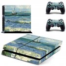Saintes Maries De La Mer ps4 skin decal for console and 2 controllers