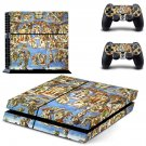 Sistine Chapel ps4 skin decal for console and 2 controllers