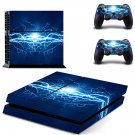 Lightning ps4 skin decal for console and 2 controllers