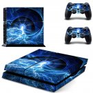 Lightning Galaxy ps4 skin decal for console and 2 controllers