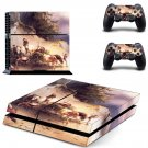 Famous oil painting ps4 skin decal for console and 2 controllers