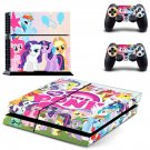 My little pony ps4 skin decal for console and 2 controllers