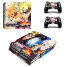 Naruto to Boruto Shinobi Striker ps4 pro skin decal for console and controllers