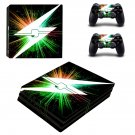 Lightning bolt ps4 pro skin decal for console and controllers