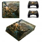 Civil war painting ps4 pro skin decal for console and controllers