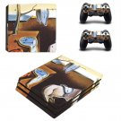 The Persistence of Memory ps4 pro skin decal for console and controllers