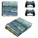 Saintes maries de la mer ps4 pro skin decal for console and controllers