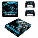Transformers ps4 slim skin decal for console and controllers