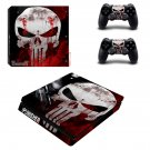 Skull ps4 slim skin decal for console and controllers