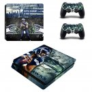 Seattle Seahawks ps4 slim skin decal for console and controllers