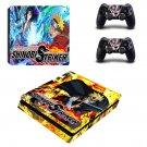 Naruto to Boruto Shinobi Striker ps4 slim skin decal for console and controllers