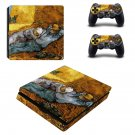 Vincent van gogh paintaing ps4 slim skin decal for console and controllers
