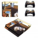 The Persistence of Memory ps4 slim skin decal for console and controllers