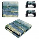 Saintes maries de la mer  ps4 slim skin decal for console and controllers