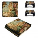 The Birth of Venus ps4 slim skin decal for console and controllers