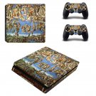 Sistine Chapel painting ps4 slim skin decal for console and controllers