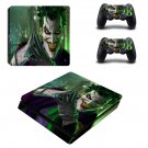 Joker ps4 slim skin decal for console and controllers