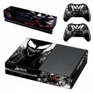 Venom skin decal for Xbox one console and controllers