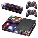 Marvel Iron Man skin decal for Xbox one console and controllers