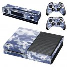 Camouflage Print skin decal for Xbox one console and controllers