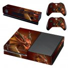 Dragon skin decal for Xbox one console and controllers