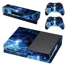 Lightning Galaxy skin decal for Xbox one console and controllers
