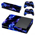 Electric Abstract lightning skin decal for Xbox one console and controllers