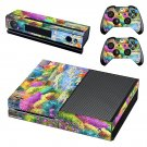 Painting of nature skin decal for Xbox one console and controllers