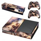 Famous oil painting skin decal for Xbox one console and controllers