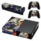 Woman with book skin decal for Xbox one console and controllers