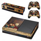 Jesus christ last supper painting skin decal for Xbox one console and controllers