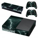 Lightning sky skin decal for Xbox one console and controllers