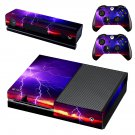 Lightning cloudy sky skin decal for Xbox one console and controllers