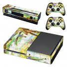 Fishing in spring skin decal for Xbox one console and controllers