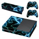 Black Lightning sky skin decal for Xbox one console and controllers