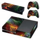 Abstract lightning art skin decal for Xbox one console and controllers