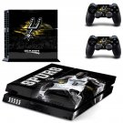 San Antonio Spurs ps4 skin decal for console and 2 controllers