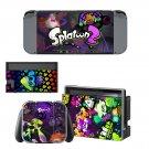 Splatoon 2 Nintendo switch console sticker skin