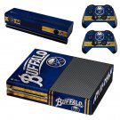 Buffalo Sabres skin decal for Xbox one console and controllers