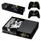 San Antonio Spurs skin decal for Xbox one console and controllers